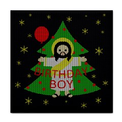 Jesus   Christmas Tile Coasters
