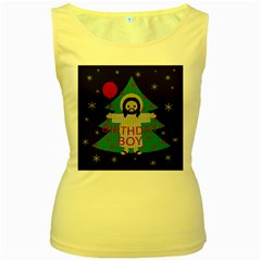 Jesus   Christmas Women s Yellow Tank Top