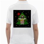 Jesus - Christmas Golf Shirts Back