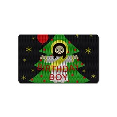 Jesus   Christmas Magnet (name Card)