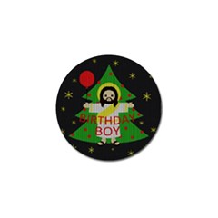 Jesus   Christmas Golf Ball Marker