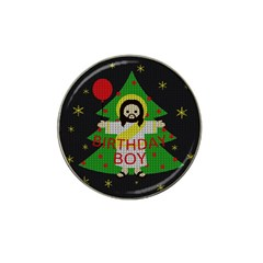 Jesus   Christmas Hat Clip Ball Marker
