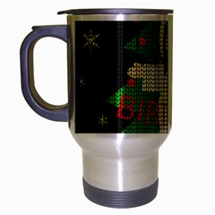 Jesus   Christmas Travel Mug (silver Gray)