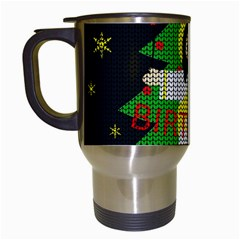 Jesus   Christmas Travel Mugs (white)