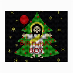 Jesus   Christmas Small Glasses Cloth