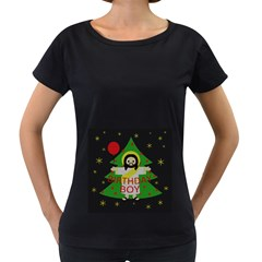Jesus   Christmas Women s Loose Fit T Shirt (black)