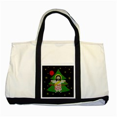 Jesus   Christmas Two Tone Tote Bag
