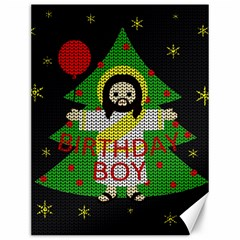 Jesus   Christmas Canvas 12  X 16