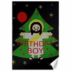 Jesus   Christmas Canvas 12  X 18