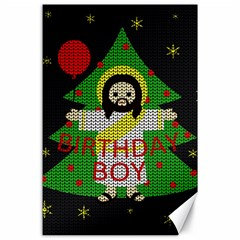 Jesus   Christmas Canvas 24  X 36