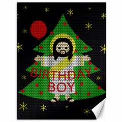Jesus   Christmas Canvas 36  X 48