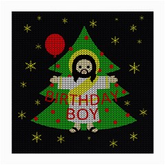 Jesus   Christmas Medium Glasses Cloth