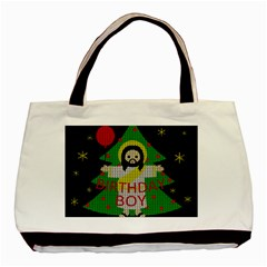 Jesus   Christmas Basic Tote Bag (two Sides)