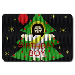 Jesus   Christmas Large Doormat