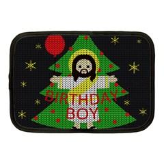 Jesus   Christmas Netbook Case (medium)