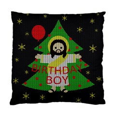 Jesus   Christmas Standard Cushion Case (two Sides)