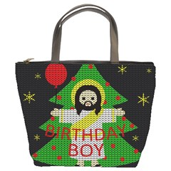 Jesus   Christmas Bucket Bags