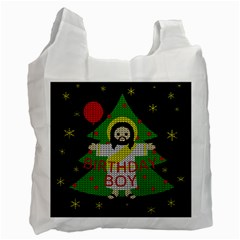 Jesus   Christmas Recycle Bag (one Side)