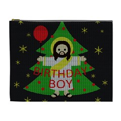 Jesus   Christmas Cosmetic Bag (xl)