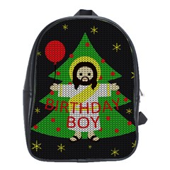 Jesus   Christmas School Bag (large)