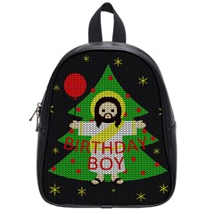 Jesus   Christmas School Bag (small)