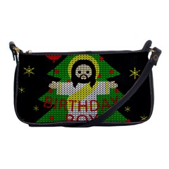 Jesus   Christmas Shoulder Clutch Bags