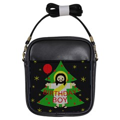 Jesus   Christmas Girls Sling Bags