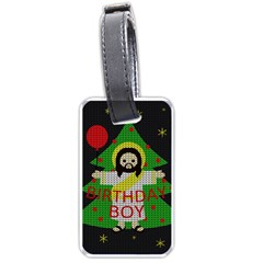 Jesus   Christmas Luggage Tags (two Sides)