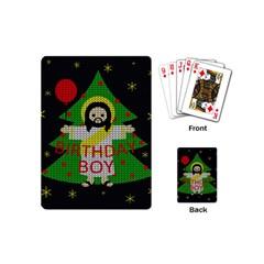 Jesus   Christmas Playing Cards (mini)