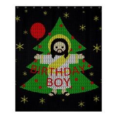 Jesus   Christmas Shower Curtain 60  X 72  (medium)