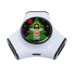 Jesus   Christmas 3 Port Usb Hub