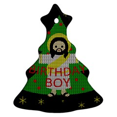 Jesus   Christmas Ornament (christmas Tree)