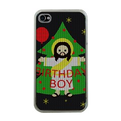 Jesus   Christmas Apple Iphone 4 Case (clear)
