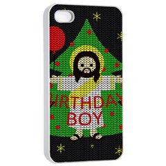 Jesus   Christmas Apple Iphone 4/4s Seamless Case (white)