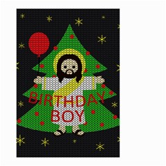 Jesus   Christmas Small Garden Flag (two Sides)