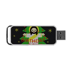 Jesus   Christmas Portable Usb Flash (two Sides)