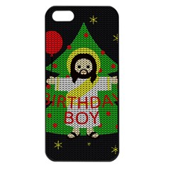 Jesus   Christmas Apple Iphone 5 Seamless Case (black)