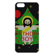 Jesus   Christmas Apple Iphone 5 Seamless Case (white)