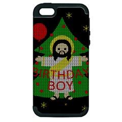 Jesus   Christmas Apple Iphone 5 Hardshell Case (pc+silicone)