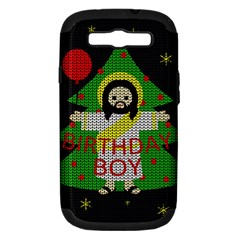 Jesus   Christmas Samsung Galaxy S Iii Hardshell Case (pc+silicone)
