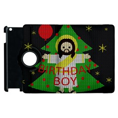 Jesus   Christmas Apple Ipad 2 Flip 360 Case