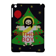 Jesus   Christmas Apple Ipad Mini Hardshell Case (compatible With Smart Cover)