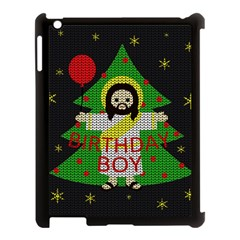 Jesus   Christmas Apple Ipad 3/4 Case (black)