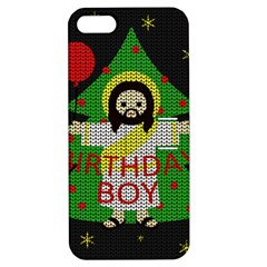 Jesus   Christmas Apple Iphone 5 Hardshell Case With Stand