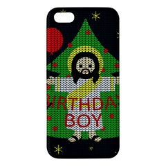 Jesus   Christmas Apple Iphone 5 Premium Hardshell Case