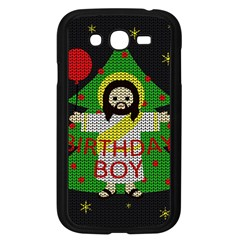 Jesus   Christmas Samsung Galaxy Grand Duos I9082 Case (black)