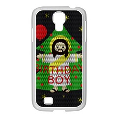 Jesus   Christmas Samsung Galaxy S4 I9500/ I9505 Case (white)