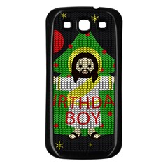 Jesus   Christmas Samsung Galaxy S3 Back Case (black)