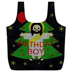Jesus   Christmas Full Print Recycle Bags (l)