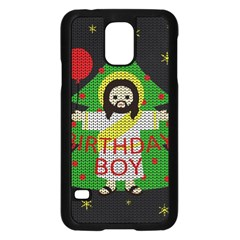 Jesus   Christmas Samsung Galaxy S5 Case (black)